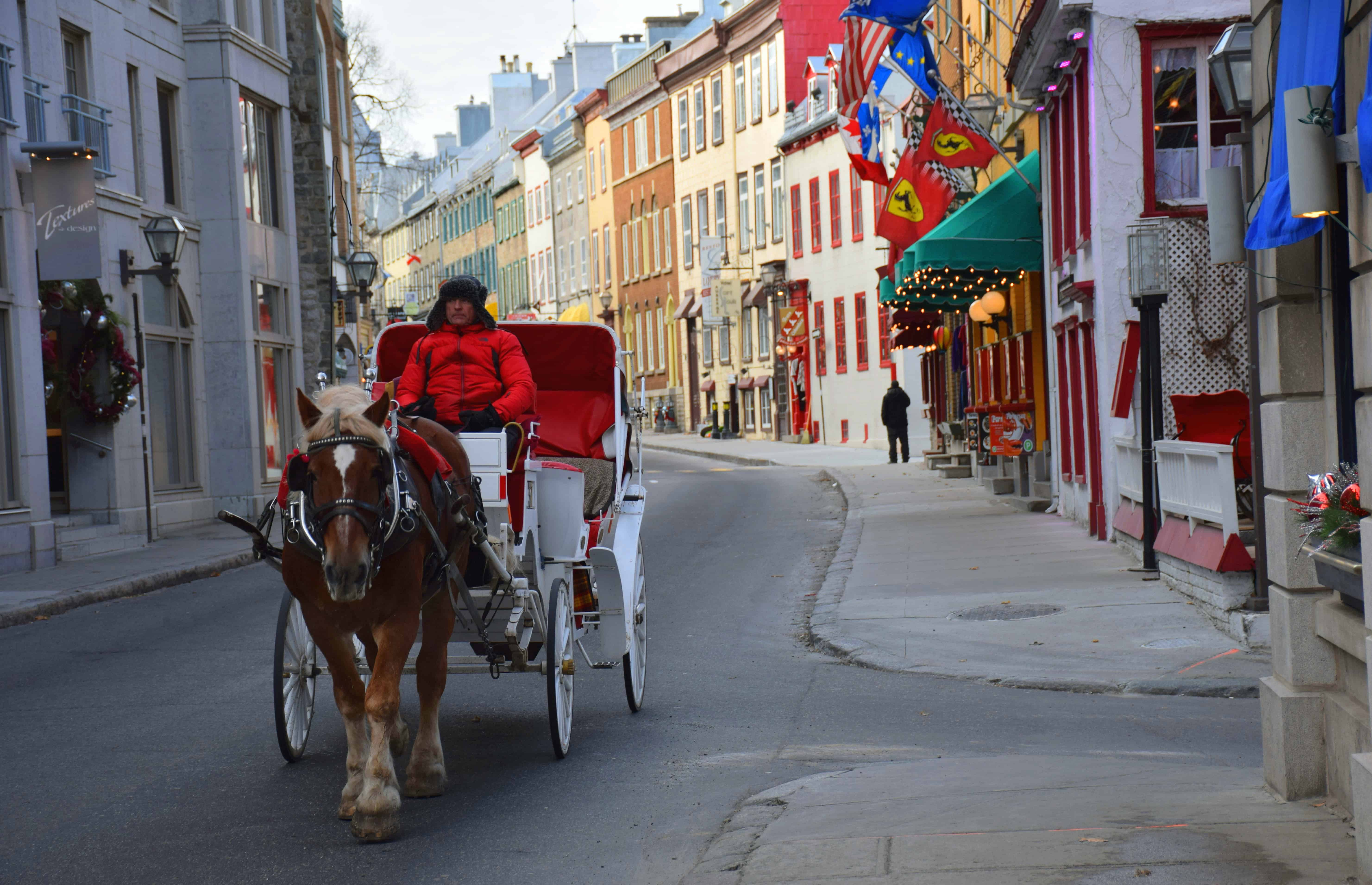 Quebec City Caleche