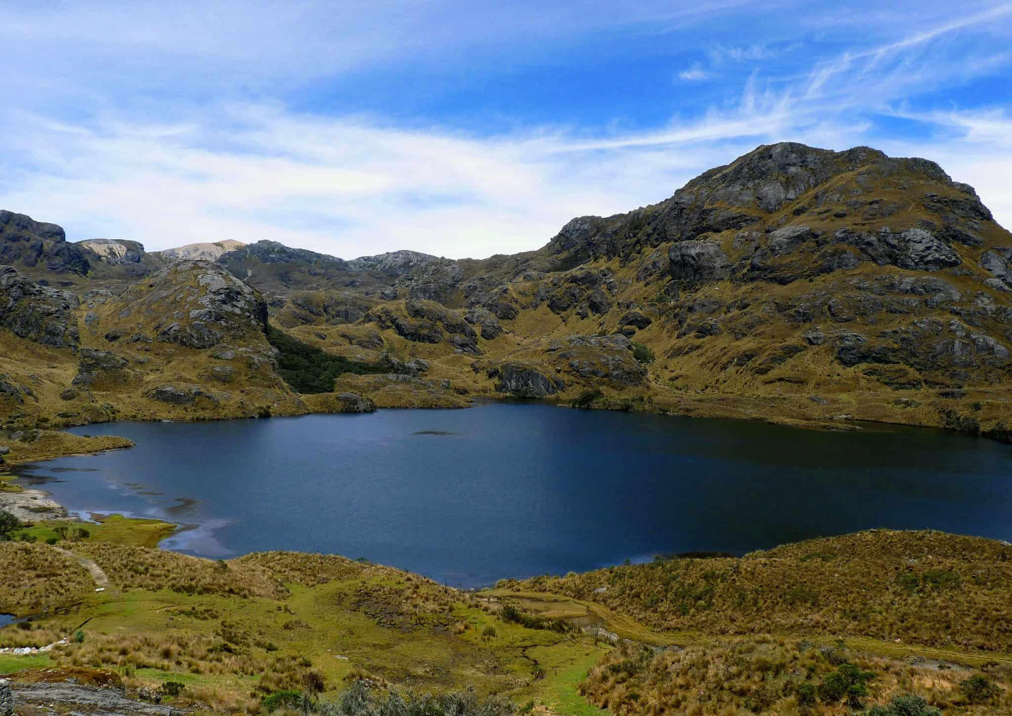 Lake Torreadora Cajas National Park