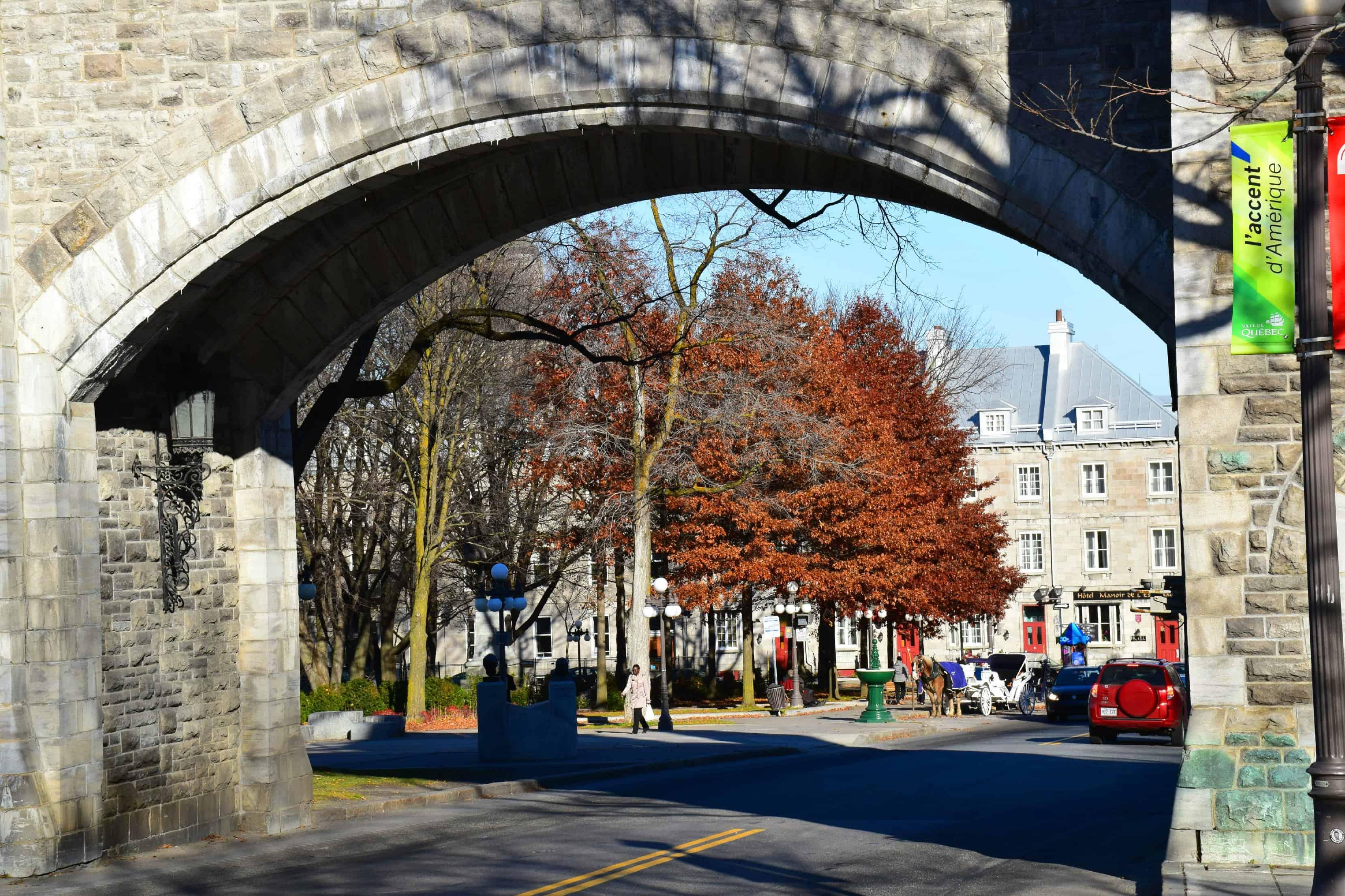 Quebec City St. Louis Gate