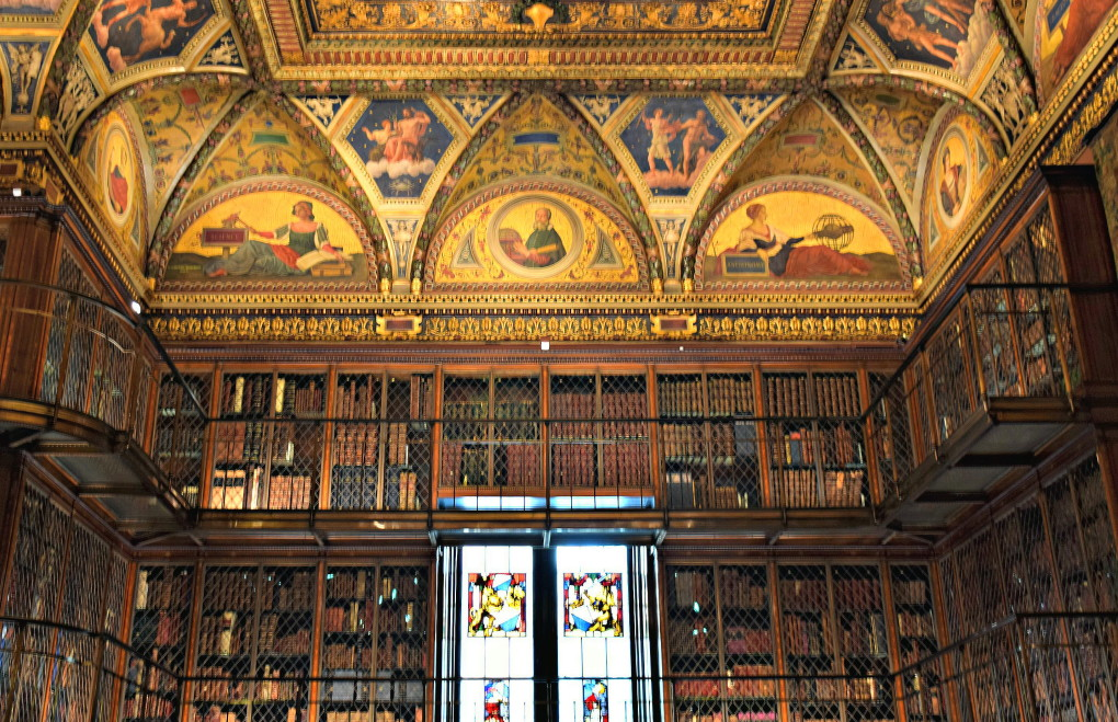 A NEW YORK CITY HIDDEN GEM:  THE MORGAN LIBRARY