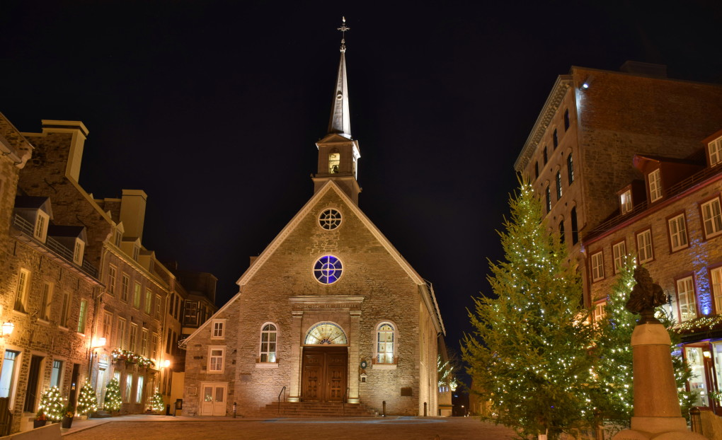 PHOTO OF THE WEEK:  PLACE ROYALE, QUEBEC CITY