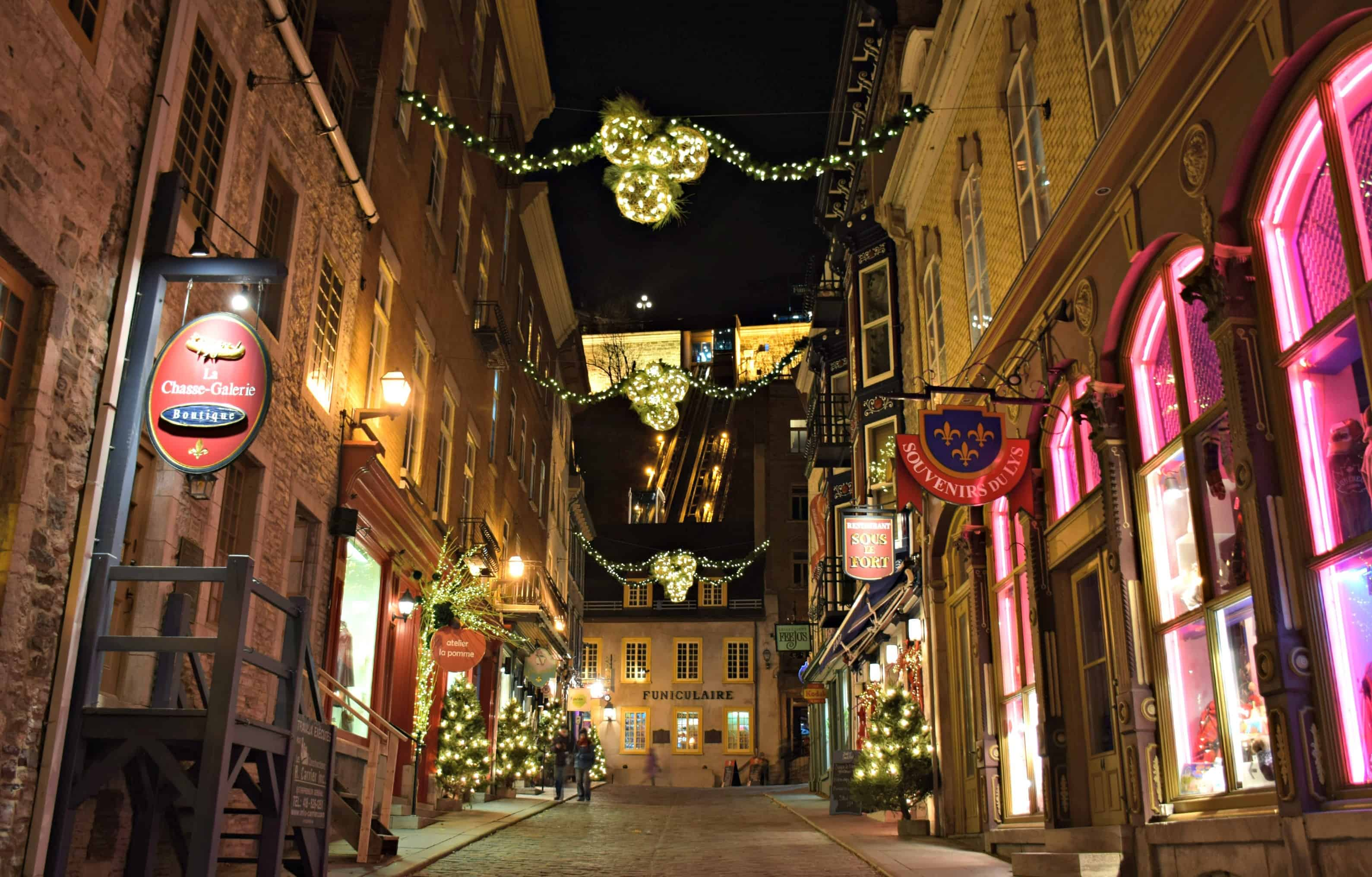 Quebec City, Funiculaire
