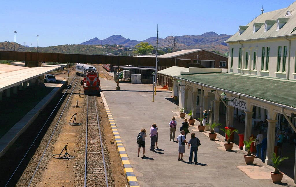 Windhoek Train Station