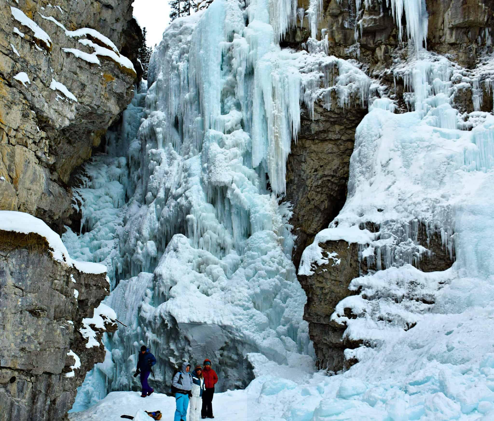 Johnston's Canyon Icefall