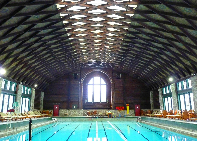 Chateau Montebello pool