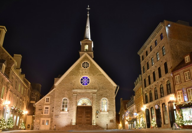 QUEBEC CITY:  THE BEST PLACE IN NORTH AMERICA TO VISIT FOR CHRISTMAS