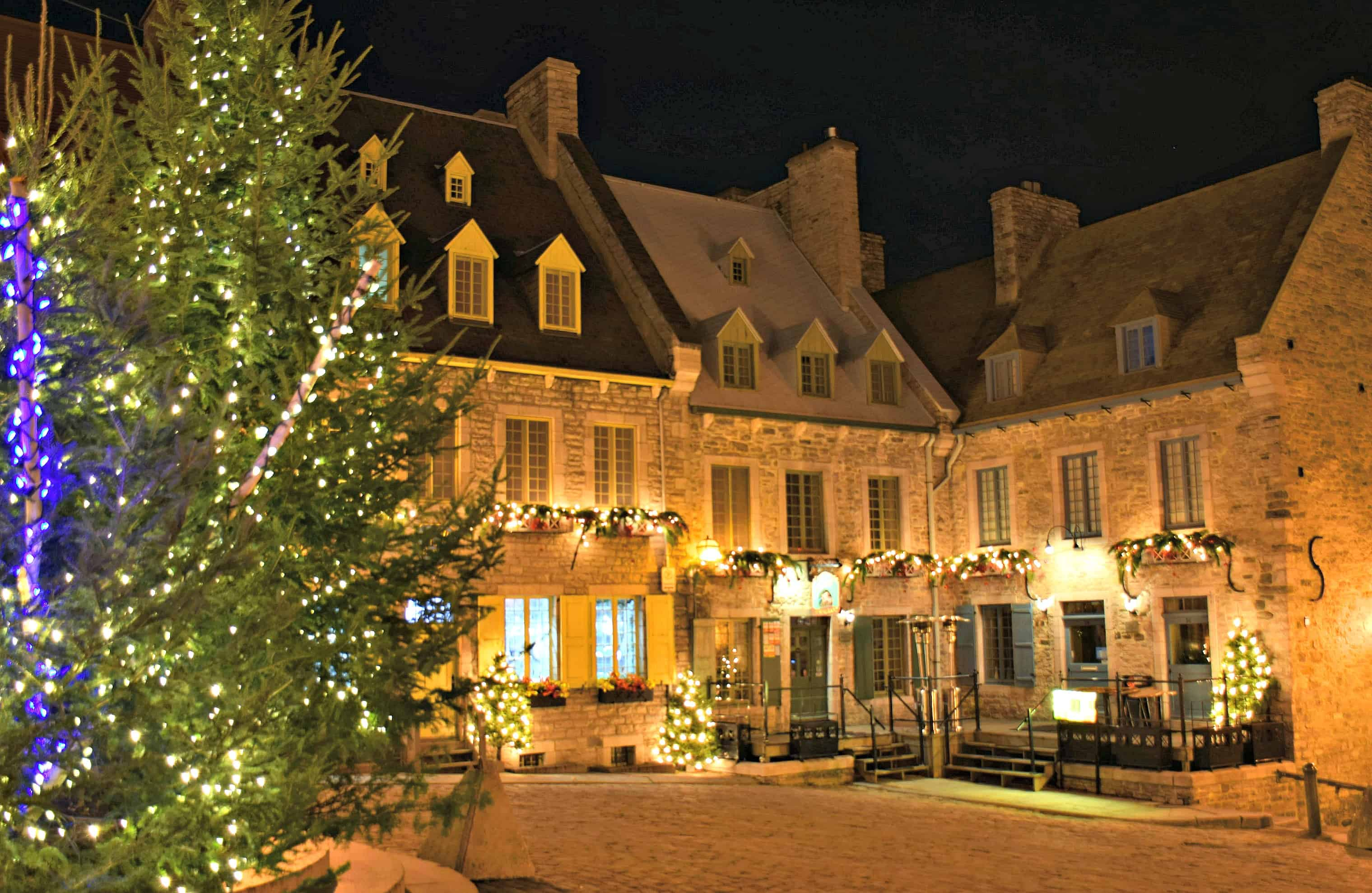 Christmas decorations quebec city all ideas about Best places to visit for christmas in usa