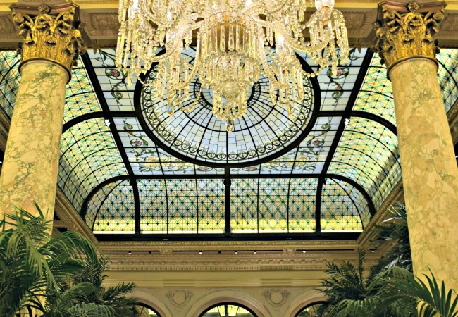 PHOTO OF THE WEEK:  PALM COURT AT THE PLAZA