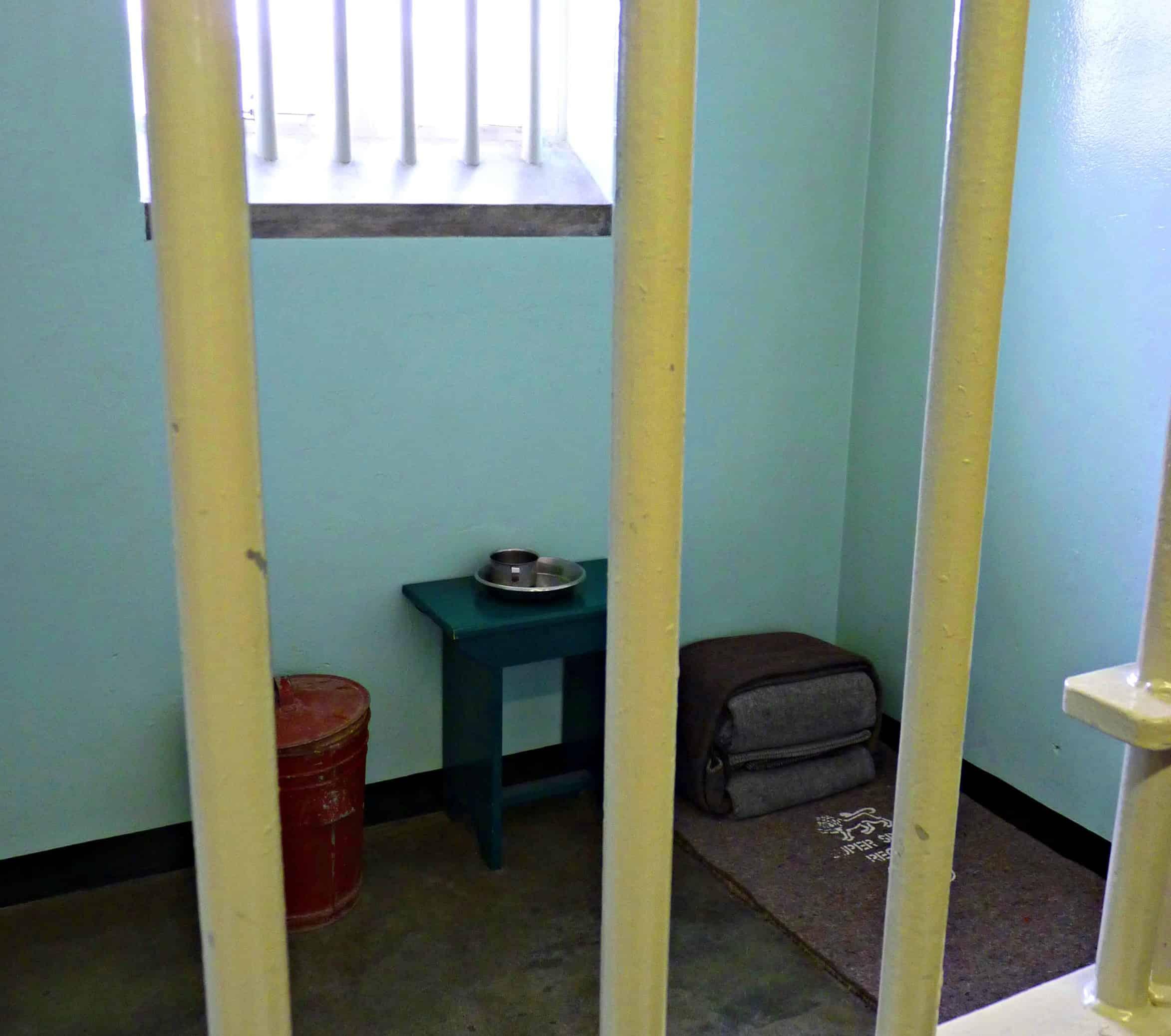Robben Island - Mandela Cell