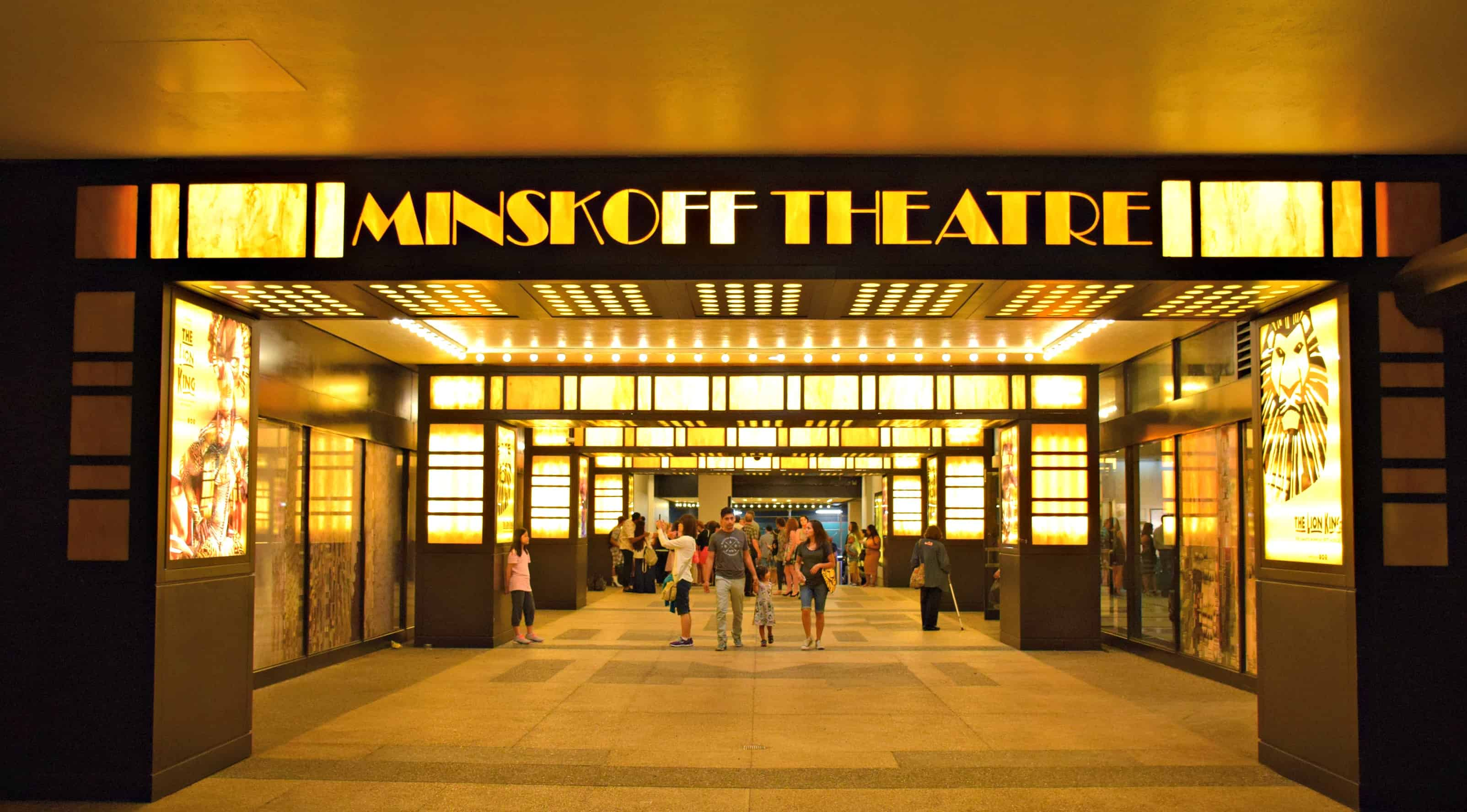 New York Minskoff Theater