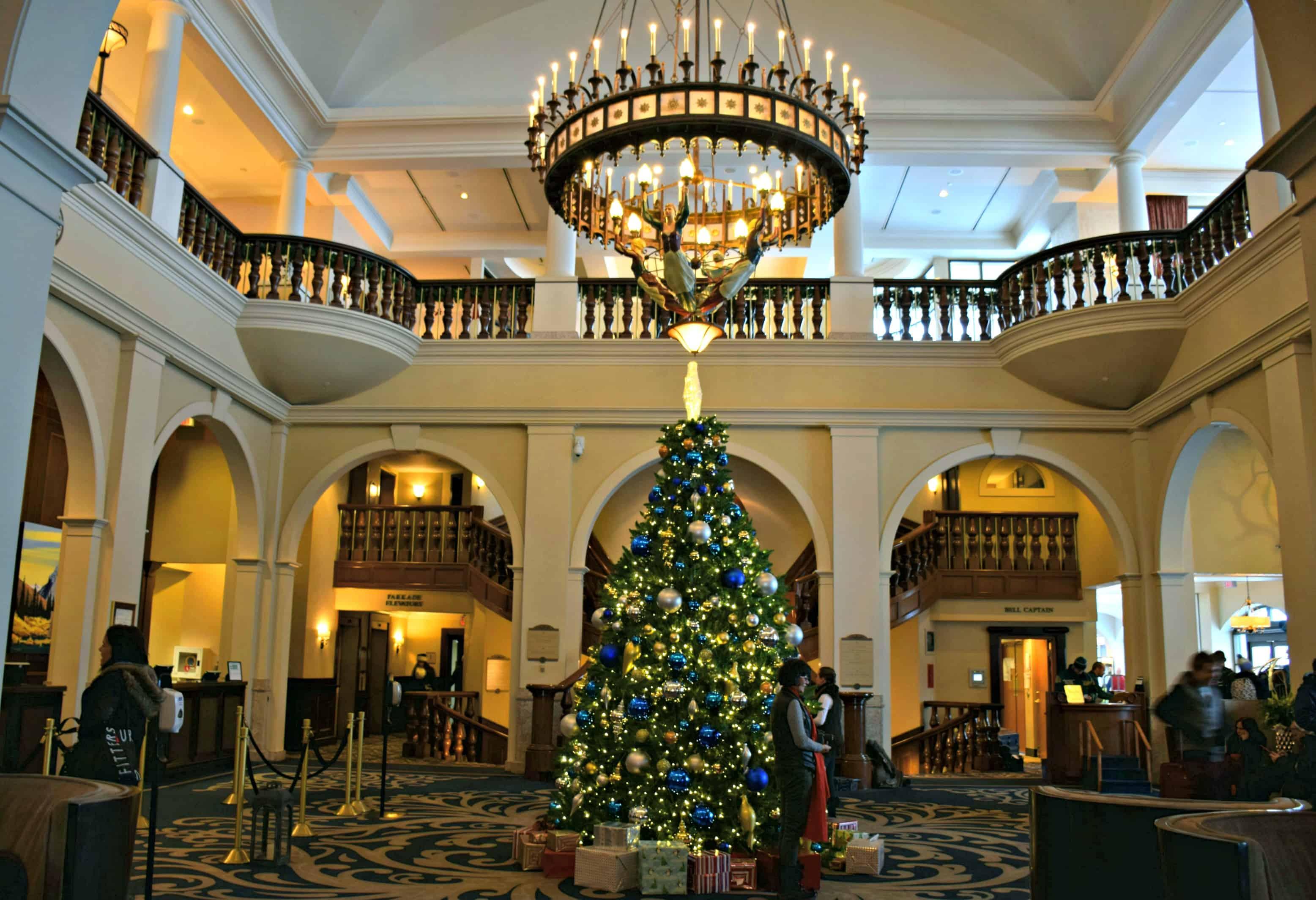 Chateau Lake Louise lobby