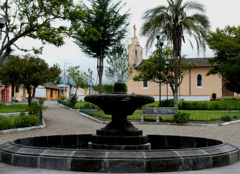 Nono Main Square, Ecuador