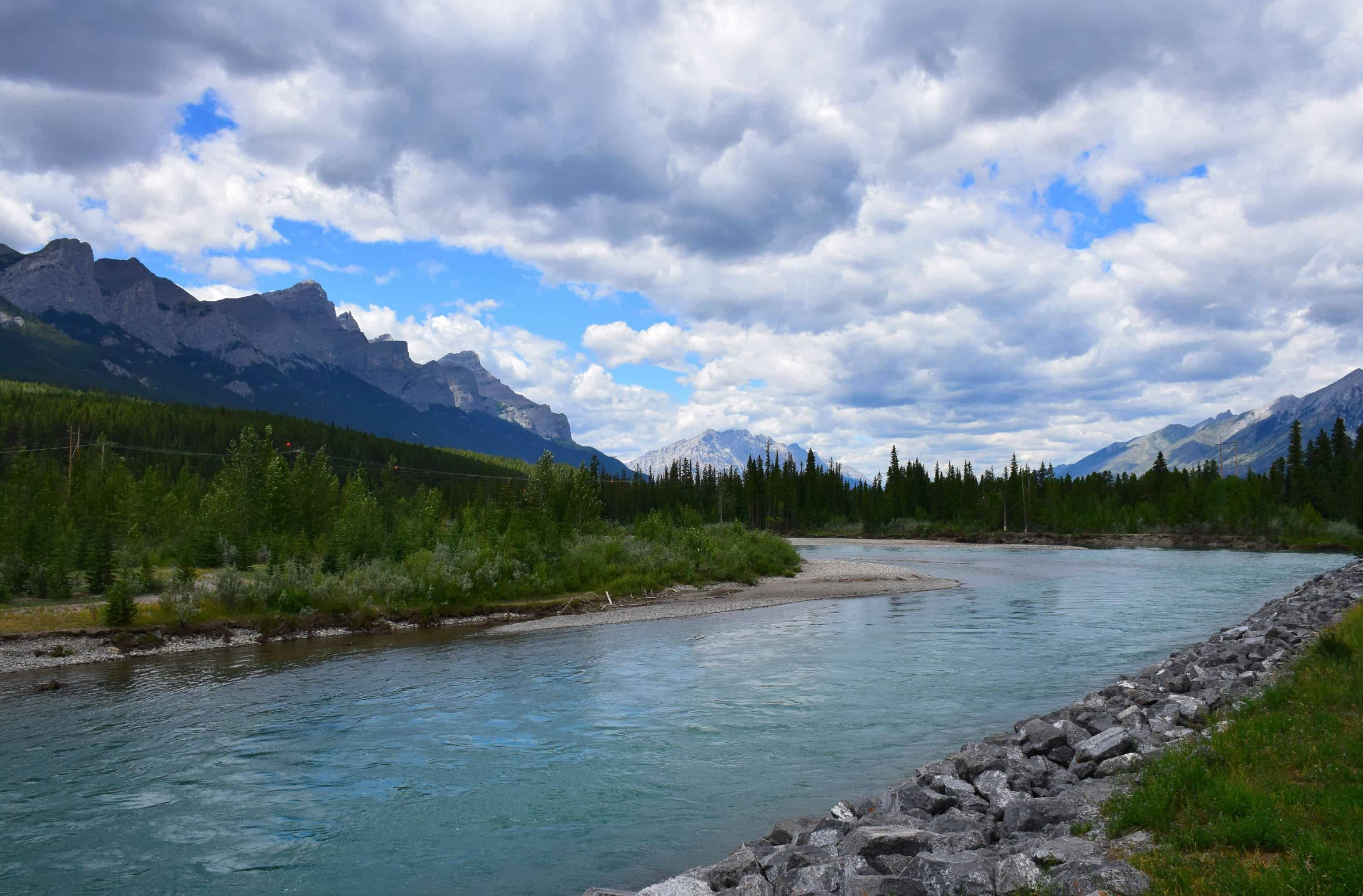 Bow River, Canmore, Ablerta