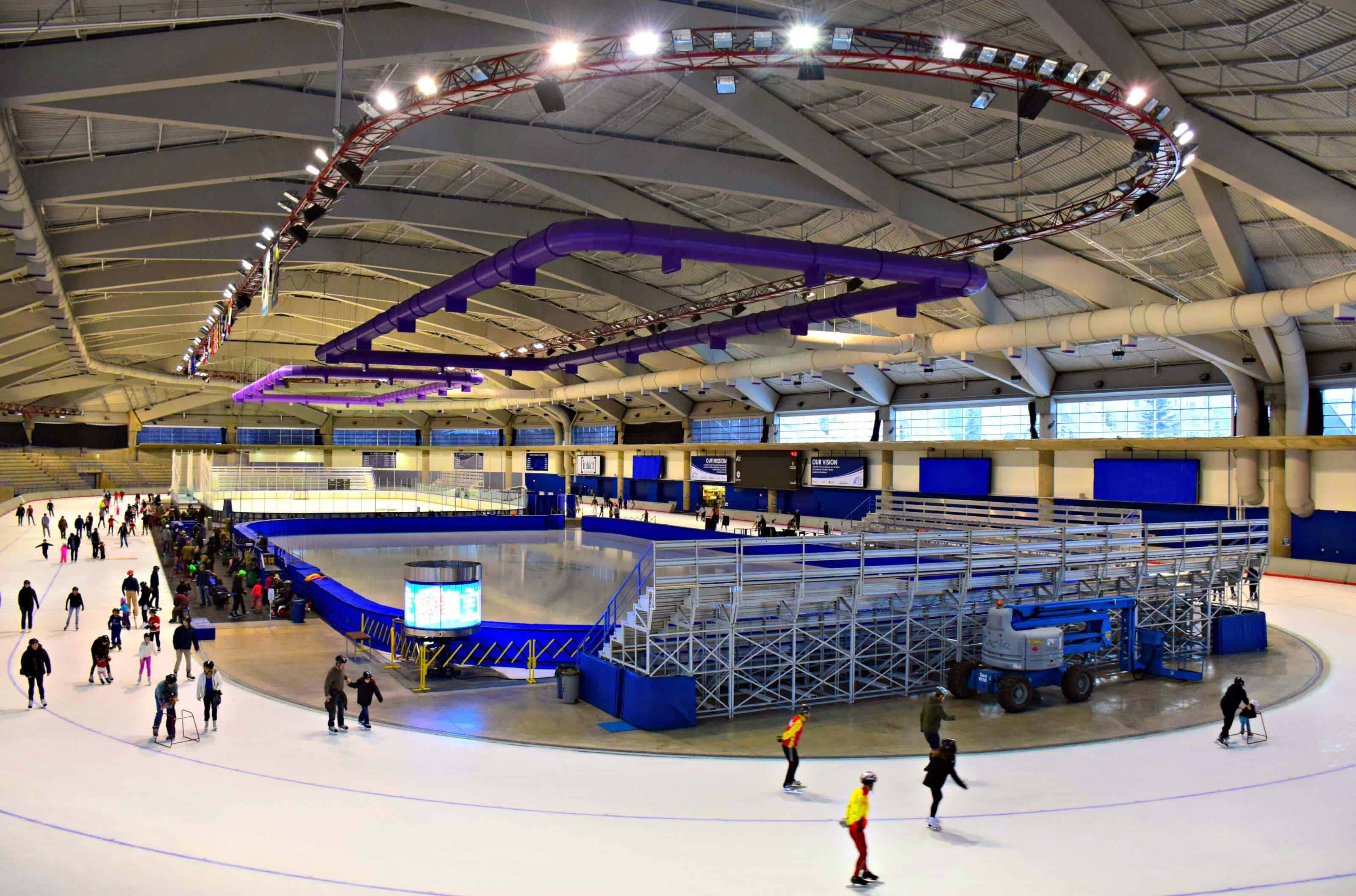 Olympic Oval, Calgary, Alberta, Canada