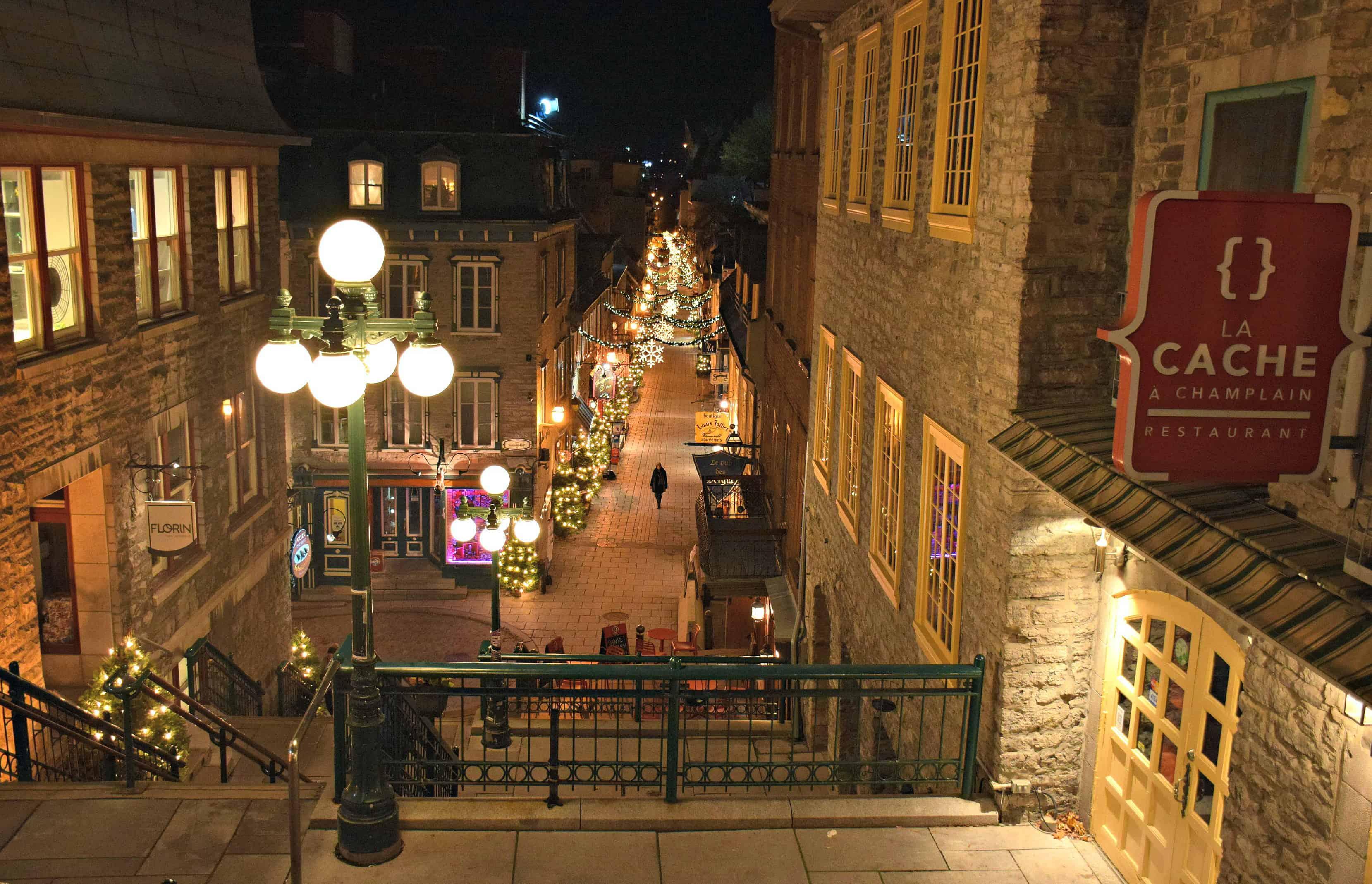 Petit Champlain, Quebec City
