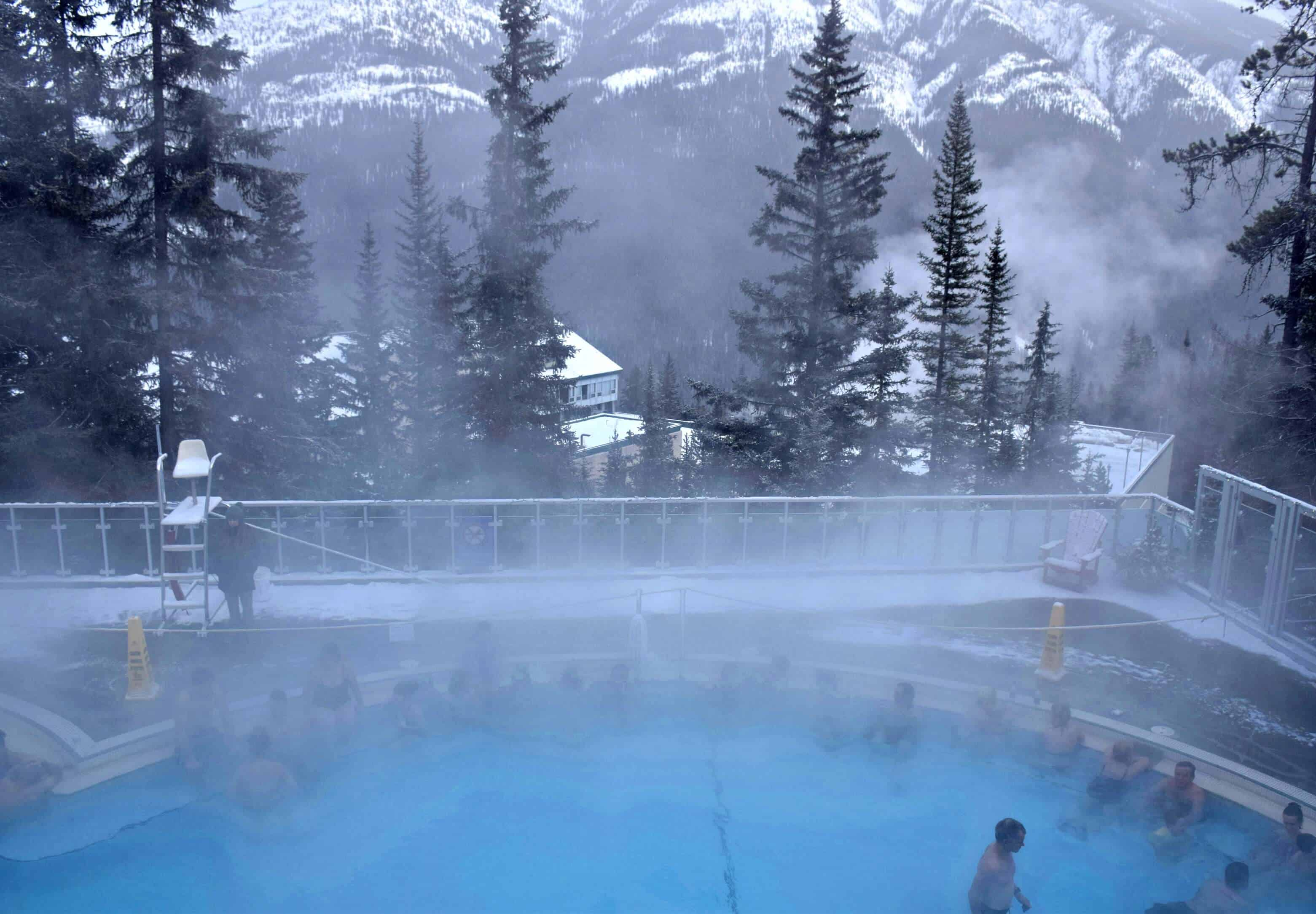 Banff Hot Springs, Alberta, Canada