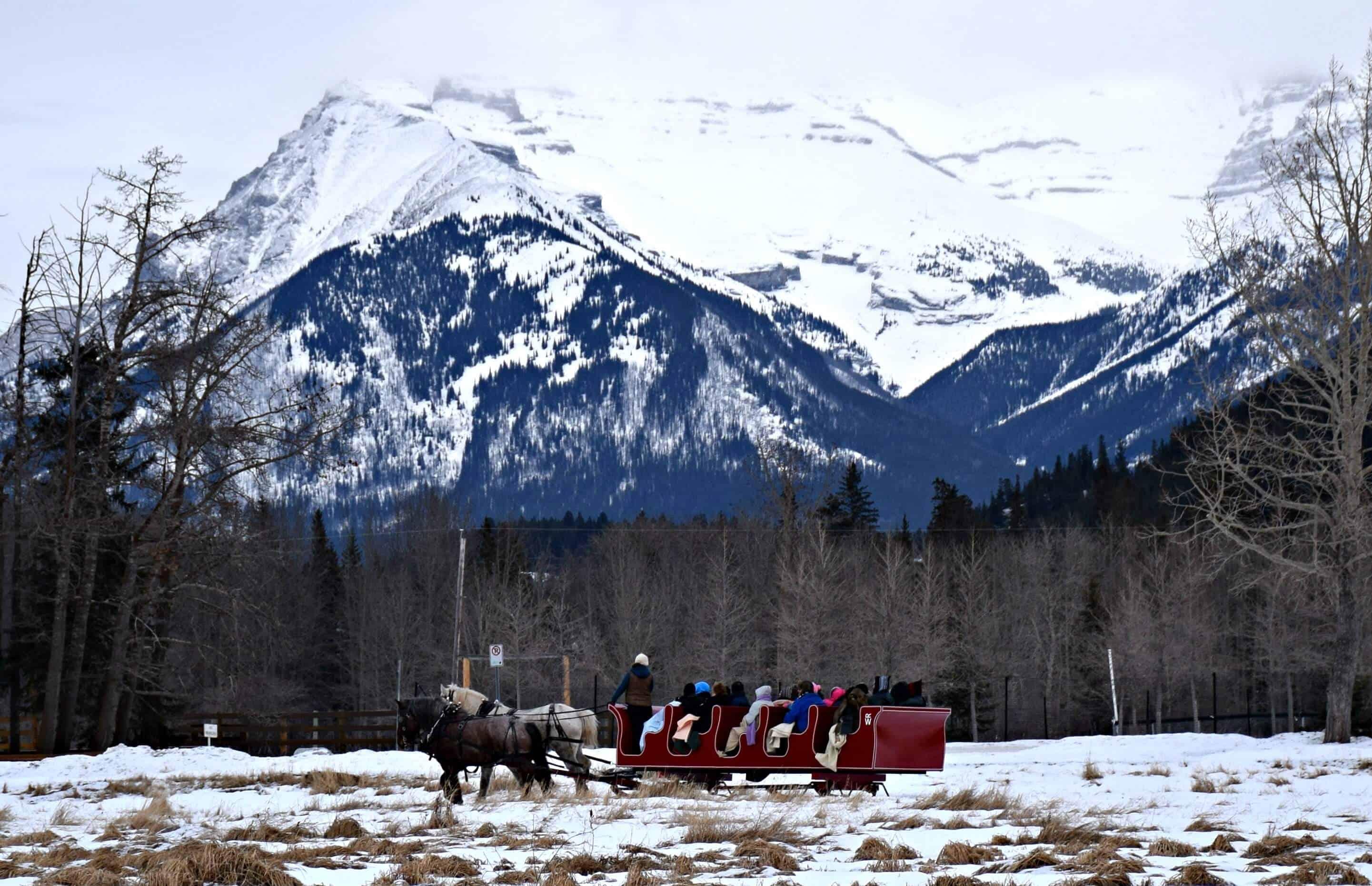 Sleigh Ride, Banff, Alberta, Canada