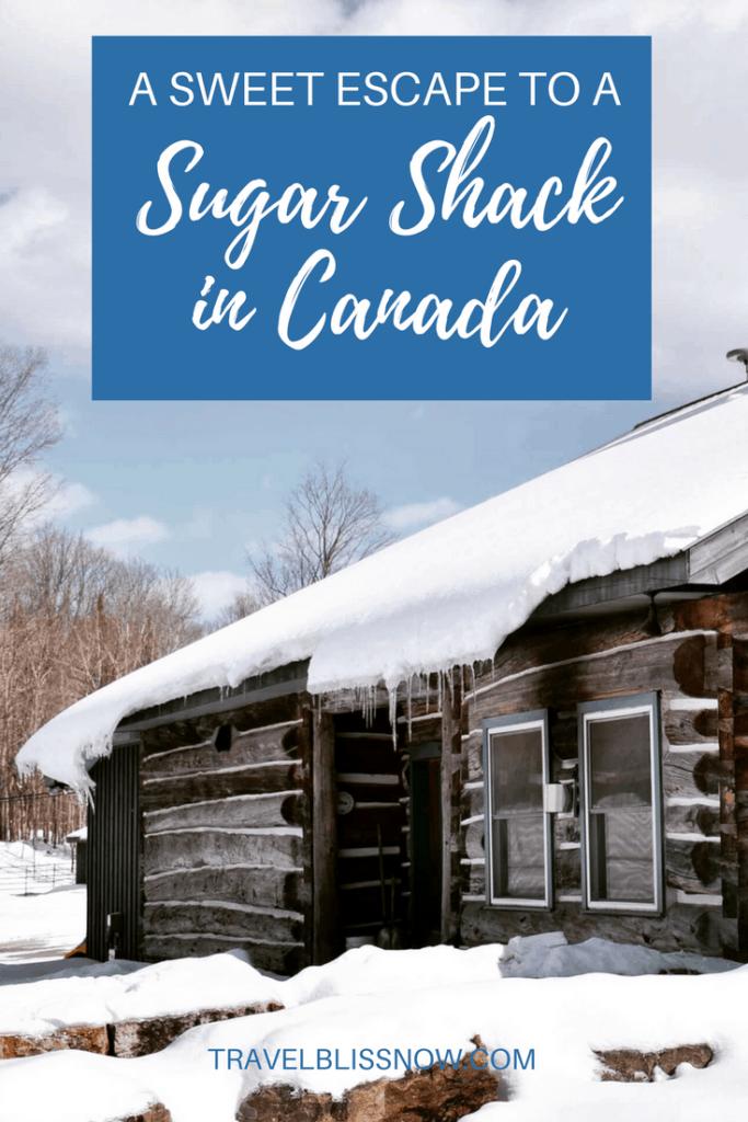 sugar shacks in Canada
