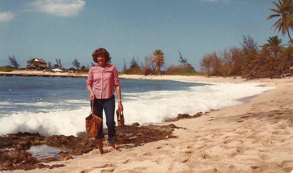 Mom in Hawaii