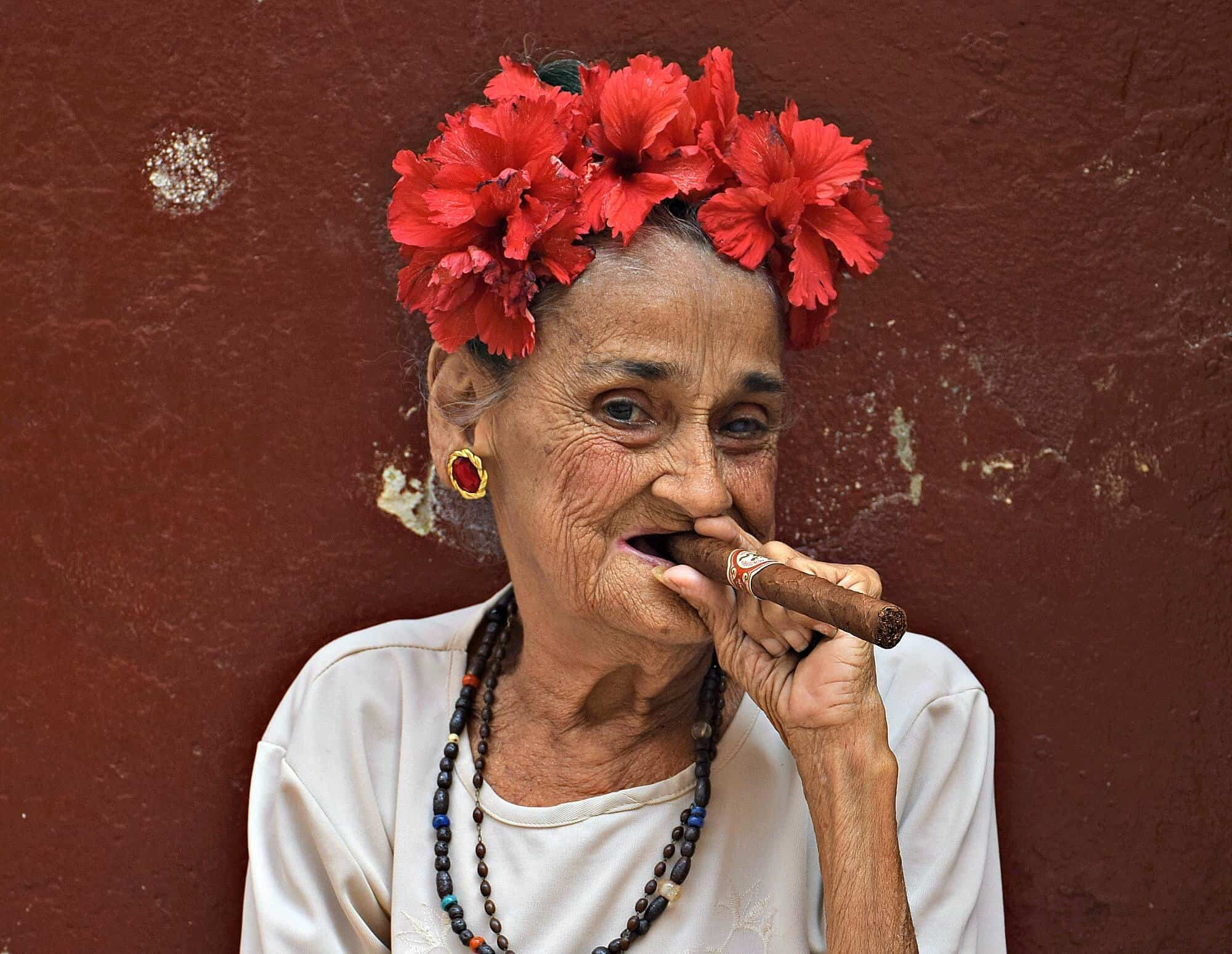 Cigar Smoking Woman, Havana