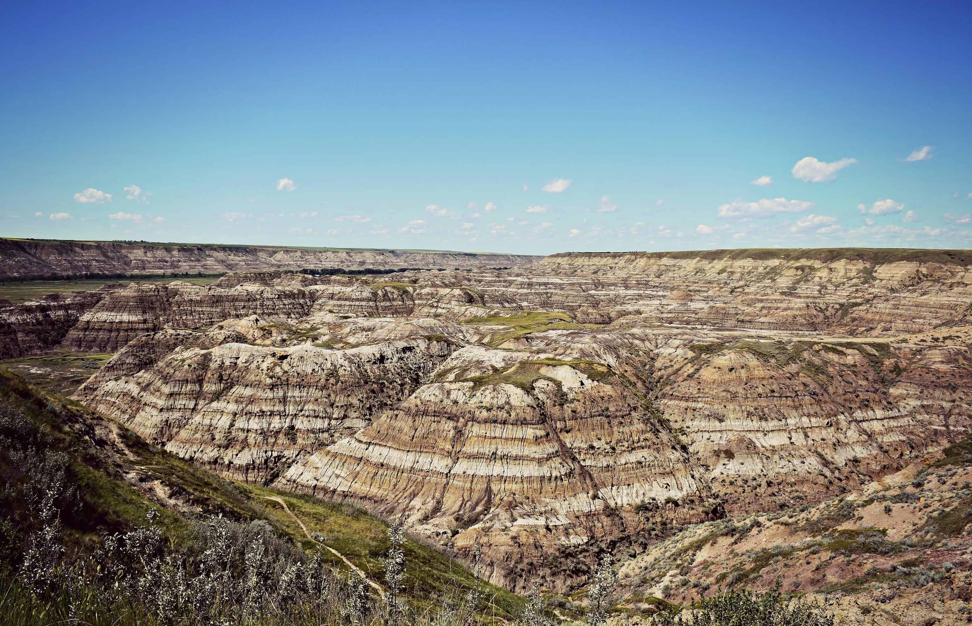 dinosaur trail in Alberta