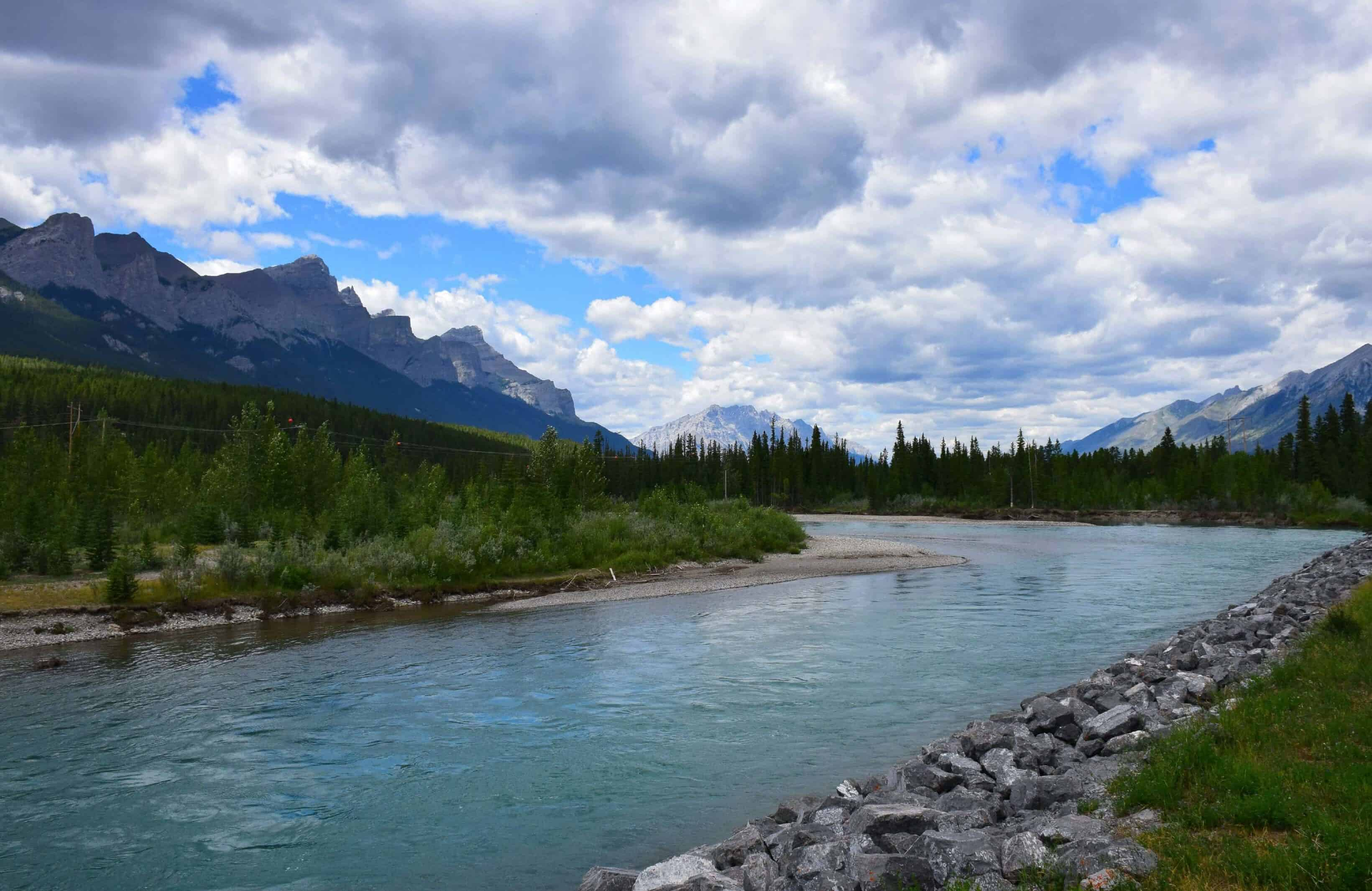 Bow River in Canmore