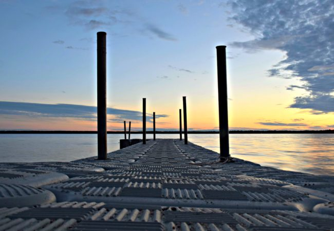 PHOTO OF THE WEEK:  SITTIN' ON THE DOCK