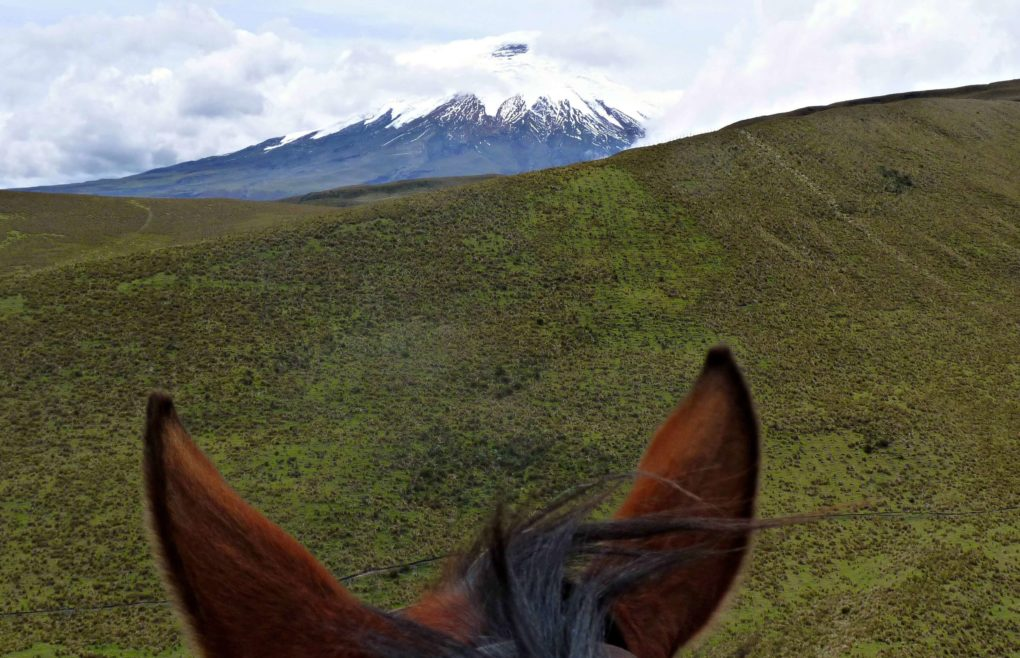 THAT TIME I RODE A HORSE TO THE TOP OF A VOLCANO IN ECUADOR