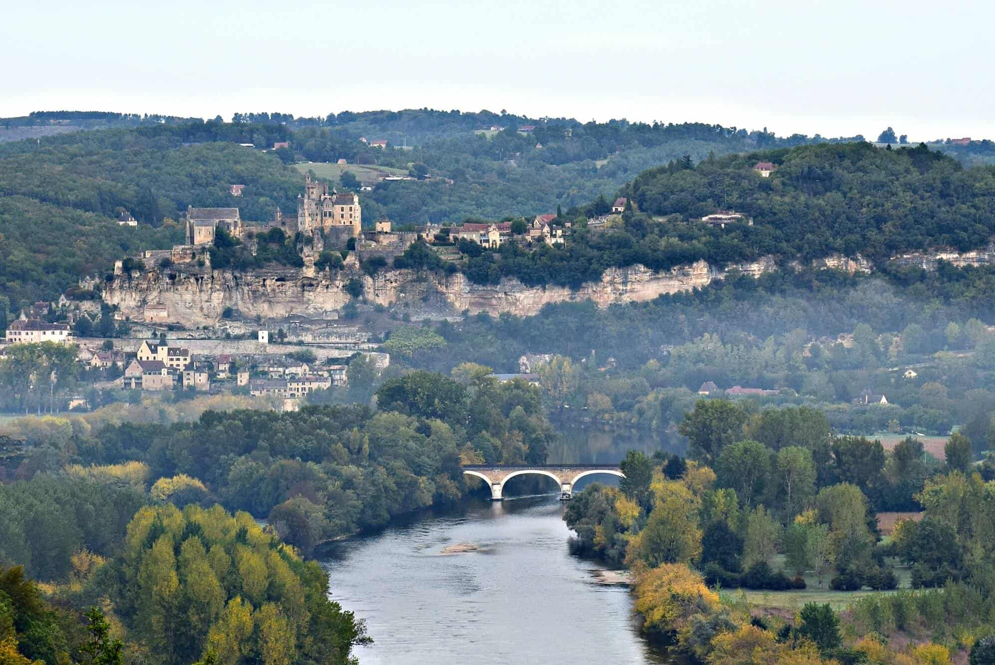 View from Castelnaud