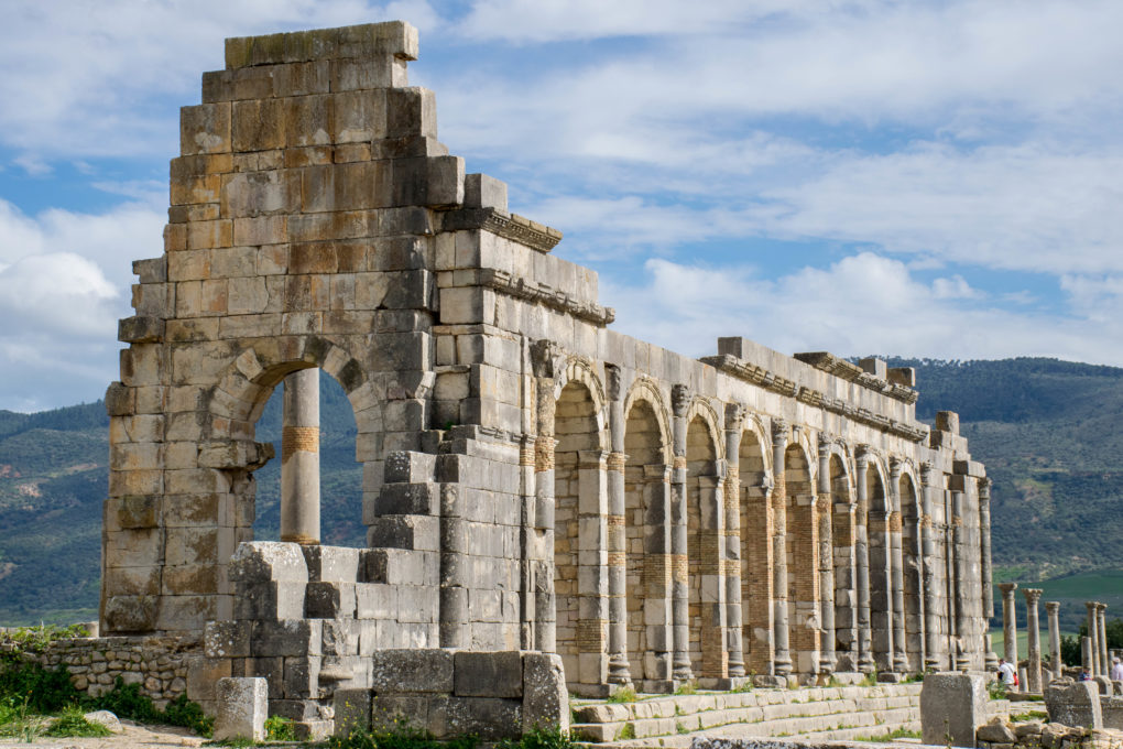A TOUR DOWN HEDONISM LANE IN VOLUBILIS, MOROCCO