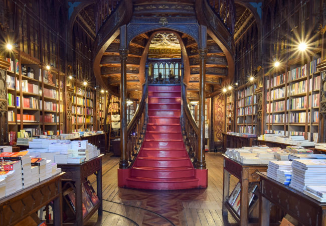 THE PORTO BOOK SHOP THAT INSPIRED HARRY POTTER'S HOGWARTS