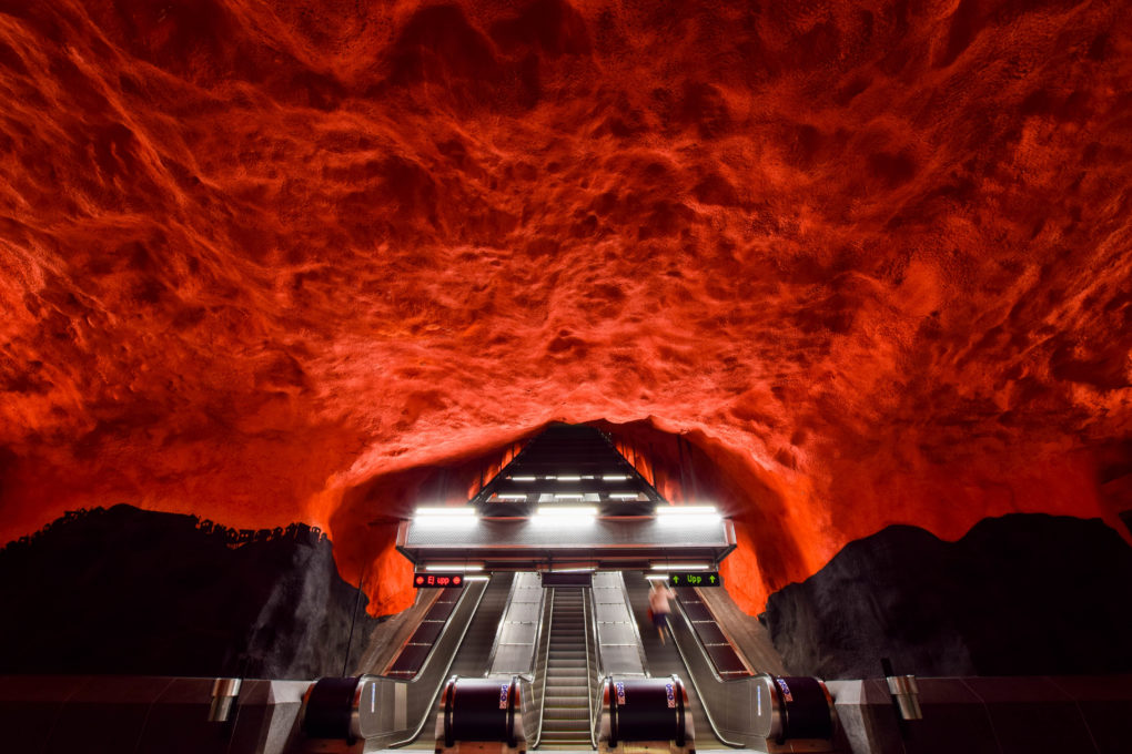 TIPS FOR TOURING STOCKHOLM'S SUBWAY ART
